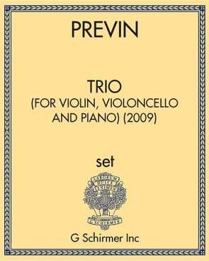 Trio (for Violin, Violoncello and Piano) (2009)