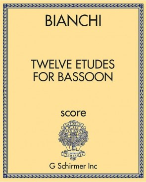 Twelve Etudes for Bassoon