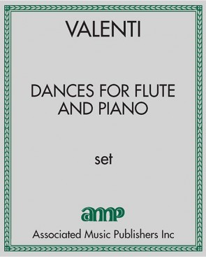 Dances for Flute and Piano
