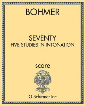 Seventy-Five Studies in Intonation
