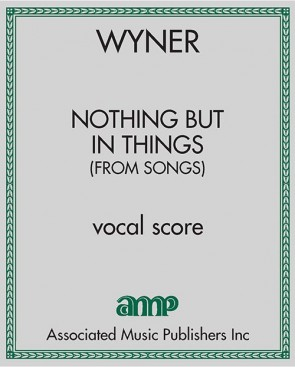 Nothing But in Things (from Songs)