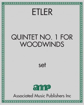 Quintet No. 1 for Woodwinds