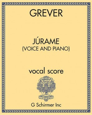 Júrame (voice and piano)