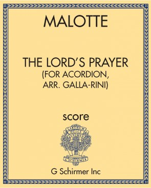 The Lord's Prayer (for acordion, arr. Galla-Rini)