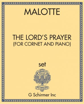 The Lord's Prayer (for cornet and piano)