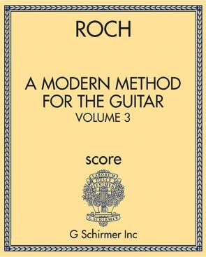 A Modern Method for the Guitar - Volume 3