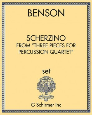 "Scherzino from ""Three Pieces for Percussion Quartet"""