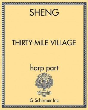 Thirty-Mile Village - harp part