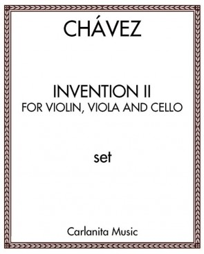 Invention II, for violin, viola and cello