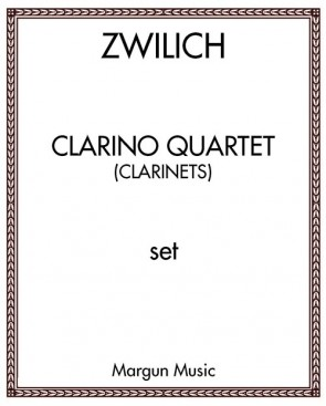 Clarino Quartet (for clarinets)