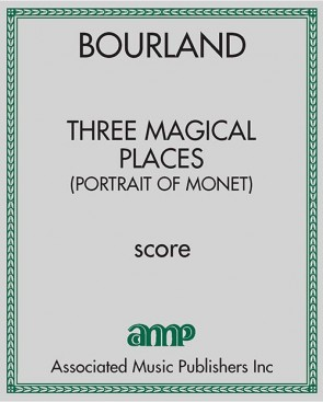 Three Magical Places (Portrait of Monet)