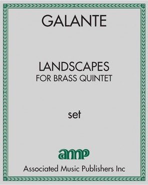 Landscapes - for brass quintet