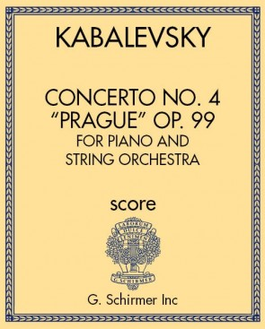 "Concerto No. 4 ""Prague"" Op. 99 for Piano and String Orchestra"