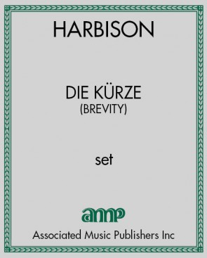 Die Kürze - set of score and parts