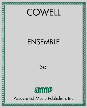 Ensemble (Set of 4 scores and parts)