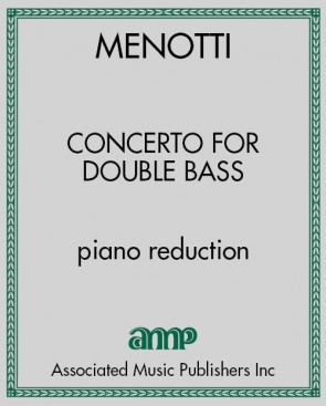 Concerto for Doublebass - piano reduction