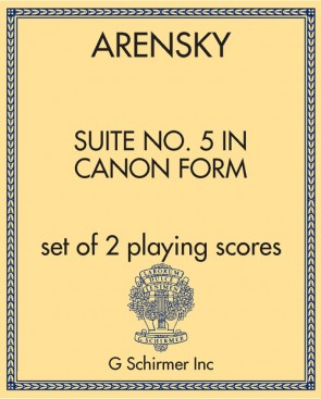 Suite No. 5 in Canon Form