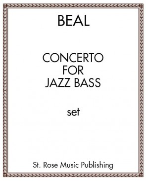 Concerto for Jazz Bass- Solo Bass and Piano Reduction