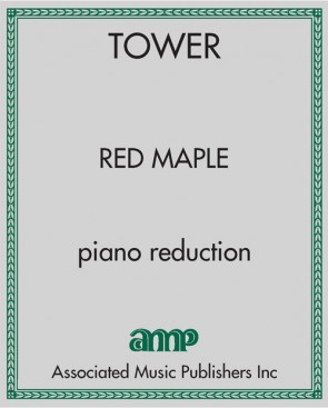 Red Maple - piano reduction only