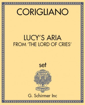 Lucy's Aria, from 'The Lord of Cries'