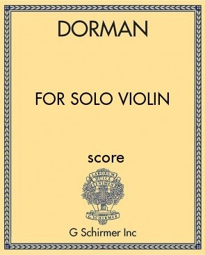 for Solo Violin