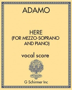 Here (for mezzo-soprano and piano)