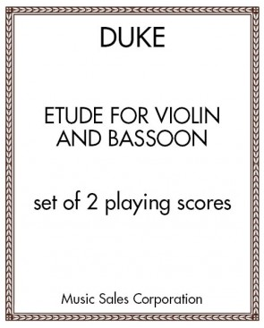 Etude For Violin and Bassoon