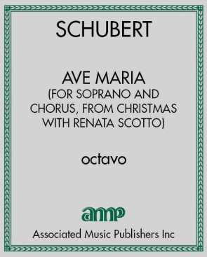 Ave Maria (for soprano and chorus, from Christmas with Renata Scotto)