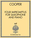 Four Impromptus for Saxophone and Piano