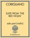Suite from 'The Red Violin' - solo part (violin)