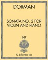Sonata No. 2 for Violin and Piano