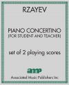 Piano Concertino (for student and teacher)