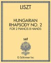 Hungarian Rhapsody No. 2 for 2 pianos, 8 hands