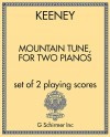 Mountain Tune, for two pianos
