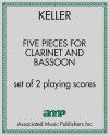 Five Pieces for Clarinet and Bassoon
