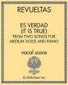 Es Verdad (It is True) - from Two Songs for Medium Voice and Piano