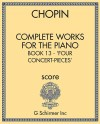 Complete Works for the Piano, Book 13 - 'Four Concert-Pieces'
