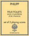 Feux Follets (Jack o'Lanterns) (for 2 pianos)