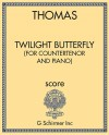 Twilight Butterfly (for countertenor and piano)