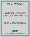 American Songs, Book 1, for piano/4 hands
