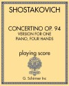 Concertino Op. 94, Version for One Piano, Four Hands