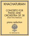 Concerto for Piano and Orchestra Op. 38 (Version for Two Pianos)