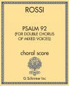 Psalm 92 (for double chorus of mixed voices)